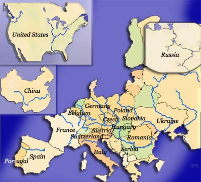Main Rivers Of The World River Cruise Agent - Main rivers of the world